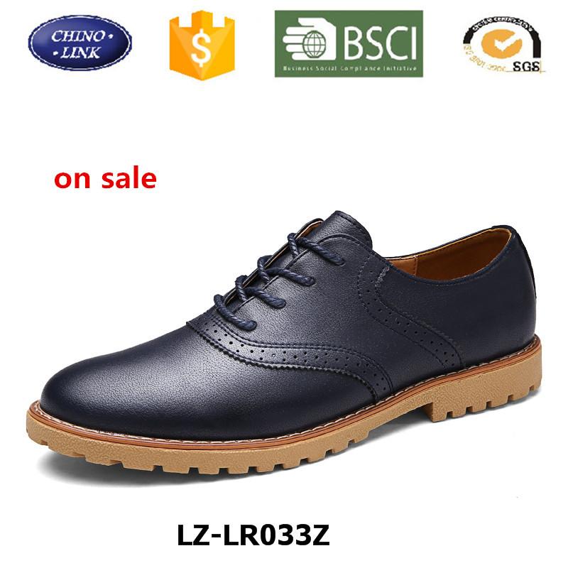 Wholesale Handmade Man Leather Shoe Luxury Leather Hot Sale ...