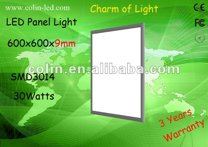 Super Brightness 600*600mm LED panel light