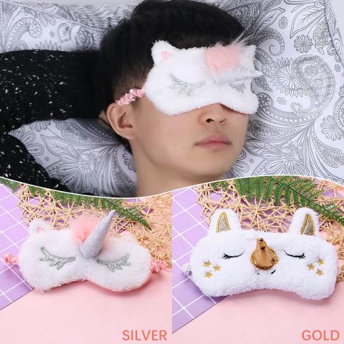 Sleep Unicorn Mask Eye Shade Cover Aid for Girl Kid Teen Blindfold Selling Sale