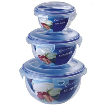 Super Quality Airtight Lock Storage Silicone Container With Plastic