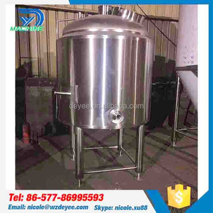 Special orders custom 200l beer bright tank