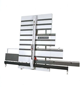 Vertical panel saw machine for wood cutting