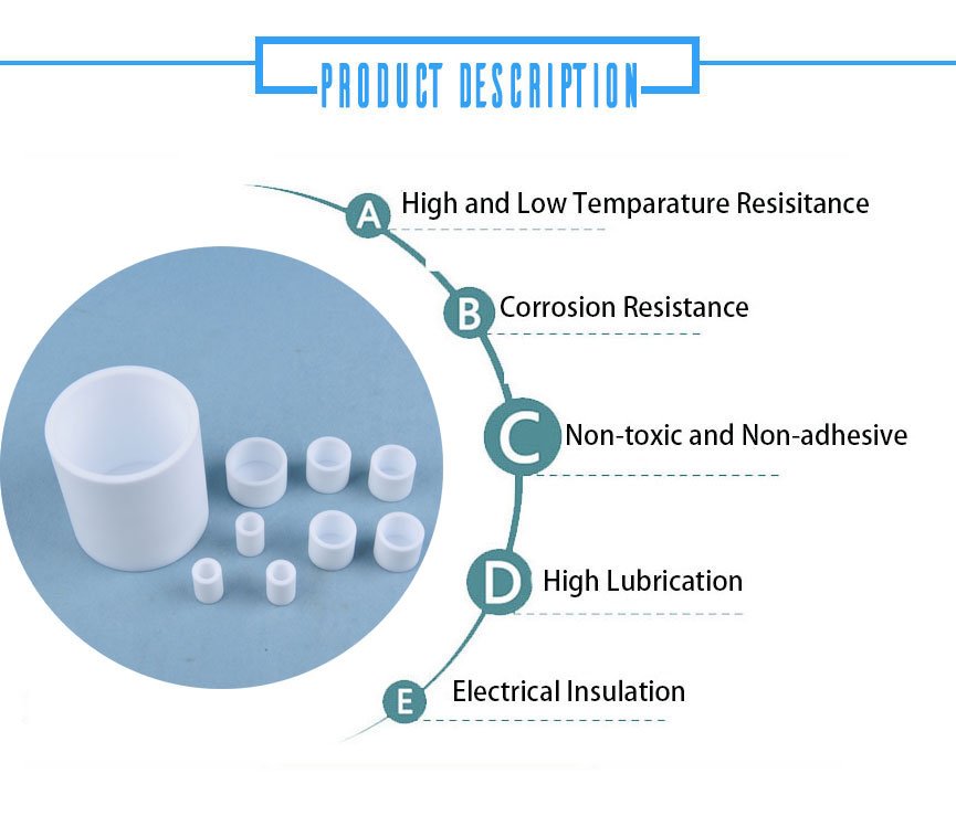 All kind of labware chemistry Durable PTFE water tank with corrosion resistance