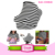 Multifunction mixing colors cotton baby cover car seat cover nursing breastfeeding cover scarf
