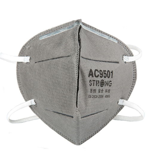 Personal Health Care Fine 1pc Vertical Folding Nonwoven Valved Dust Filter Masks Disposable Respirator Mask Breathing Mask With Valve Pm2.5