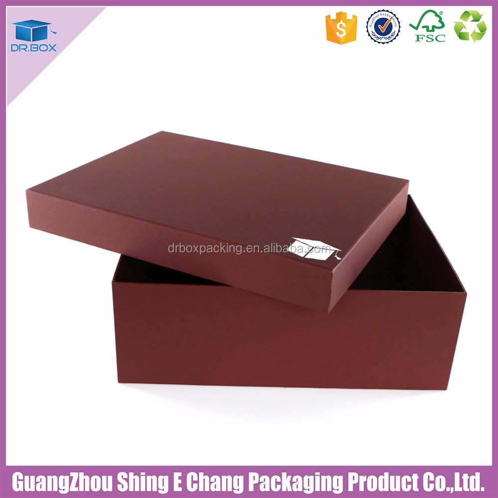 Good China wholesaler Hot stamp packaging box for garment