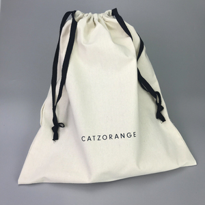 custom fashion popular Eco-friendly 100 % factory selling cotton dust bag low price