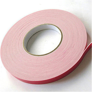 Acrylic Glue PE Foam Double Sided Red Tape