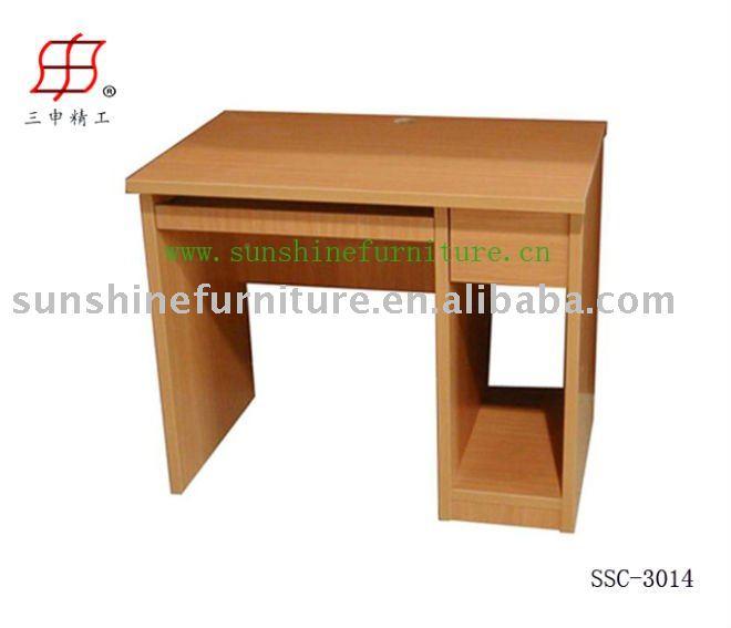 mdf wooden simple office working computer table desk buy home