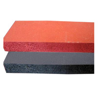 Professional factory supply colorful silicone sponge / foam rubber sheet
