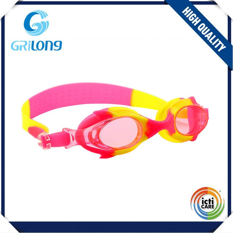 Newest sale professional design long life kids swimming goggle