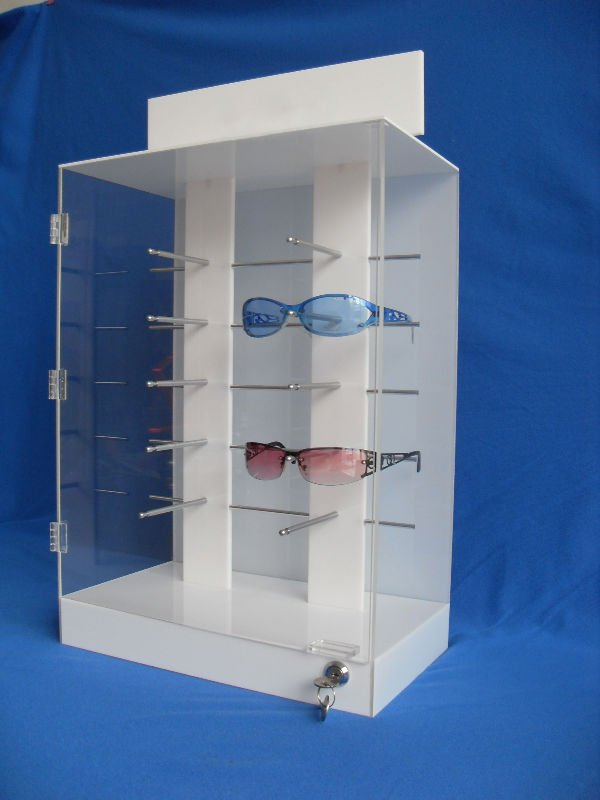 Clear Acrylic Glasses Eyewear Display Stand Wholeslae China