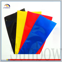 SUNBOW terminals insulation PVC Lay flat Heat Shrink Sleeves