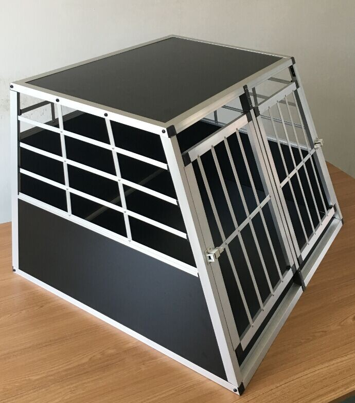 how to make aluminum dog cage