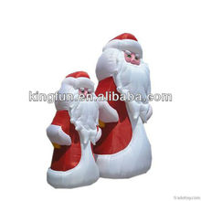 New design attractive inflatable christmas man/Santa Claus
