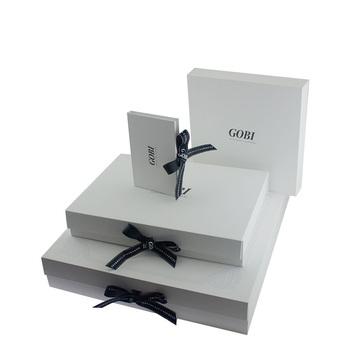 Ribbon Flat Foldable White Gift Box Custom Packing Box Buy Flat Pack Gift Box Custom Made Gift Boxes Plain White Gift Boxes Product On Alibaba Com