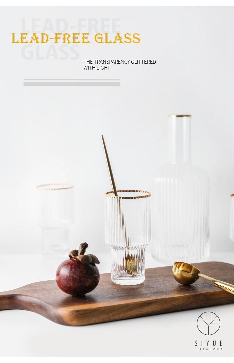 Haushalts Individuelles Design Glas Flasche Wodka Limonade 1881