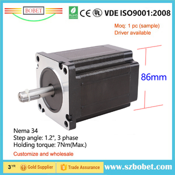 Nema 34 stepper motor buy size 86mm nema 34 for How to size a stepper motor