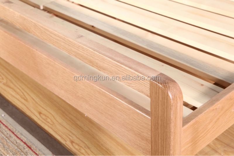 oak solid wood 1.2/1.5/1.8M double bed