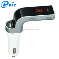 High Quality Best New LCD USB Charger Handsfree MP3 Bluetooth Car Kit With FM Transmitter
