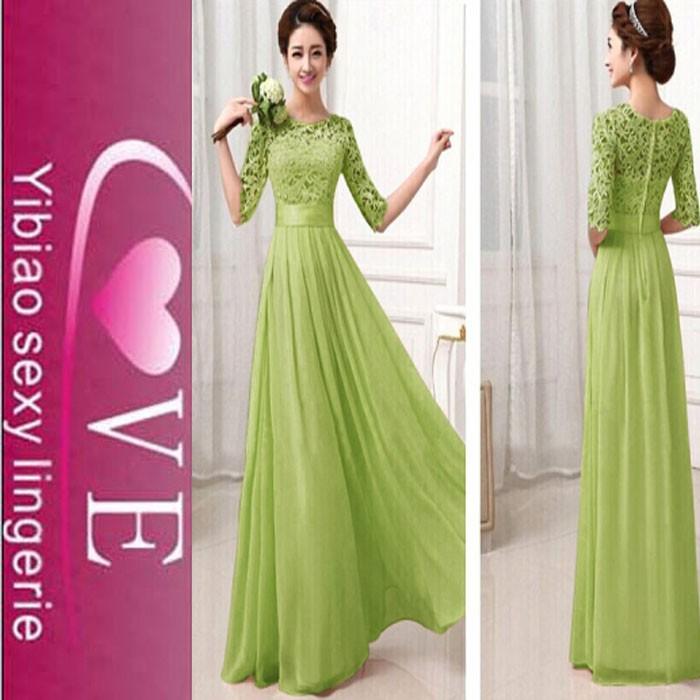 b88c3375225a design caldo bellezza chiffon volant abito da sera per le donne partito  indossare abiti lunghi