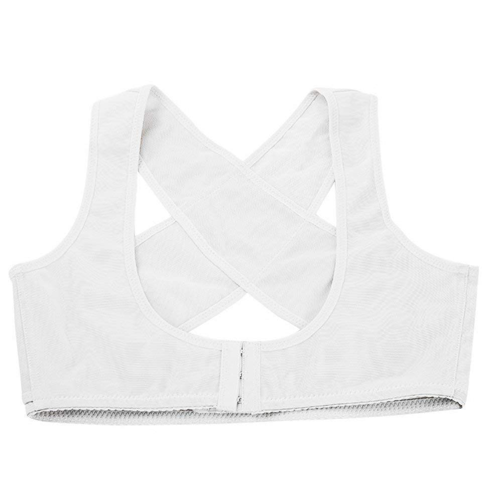 46df3ba6b5a Get Quotations · PU Health Pure Acoustics Back Support Bra Posture  Corrector Brace X Type Pattern Pain Reliever