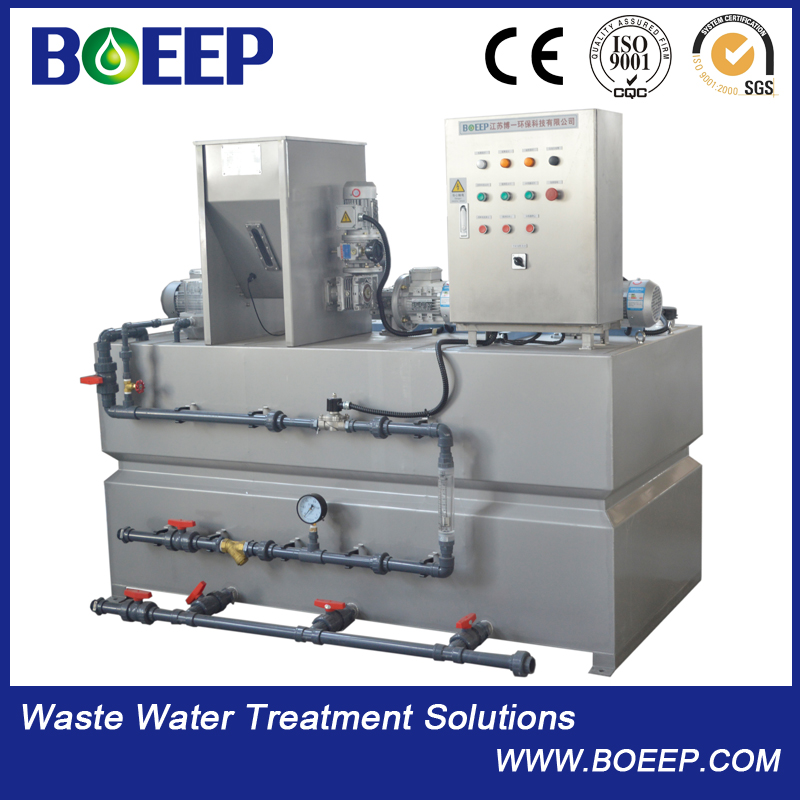 Chemical Automatic polymer dosing equipment system
