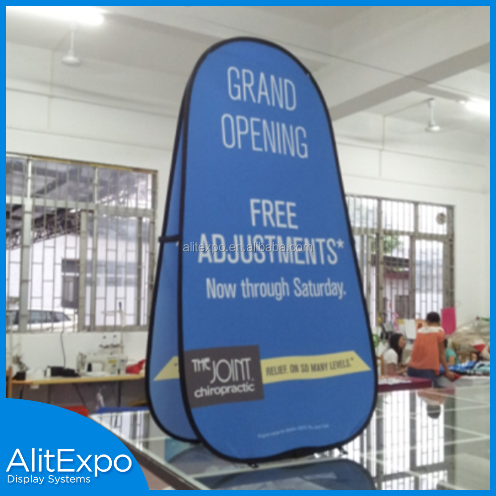 S / M / L size optional trade show display banner