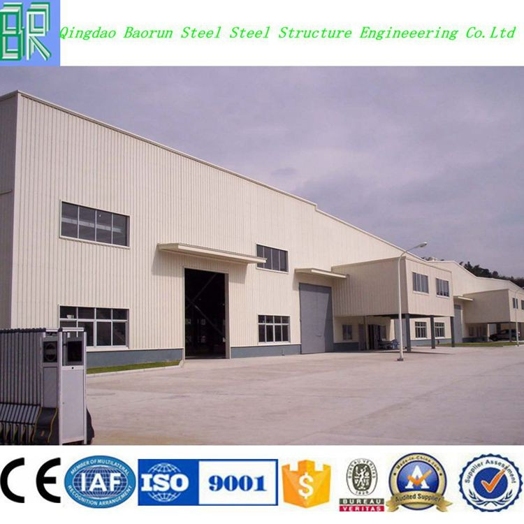 Professional steel structure car workshop design