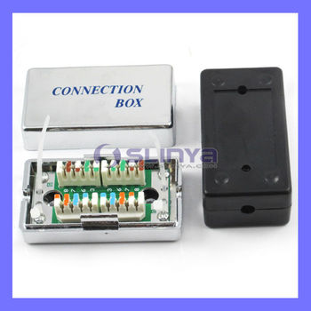 cat 5 network connection box cable connect distribution. Black Bedroom Furniture Sets. Home Design Ideas