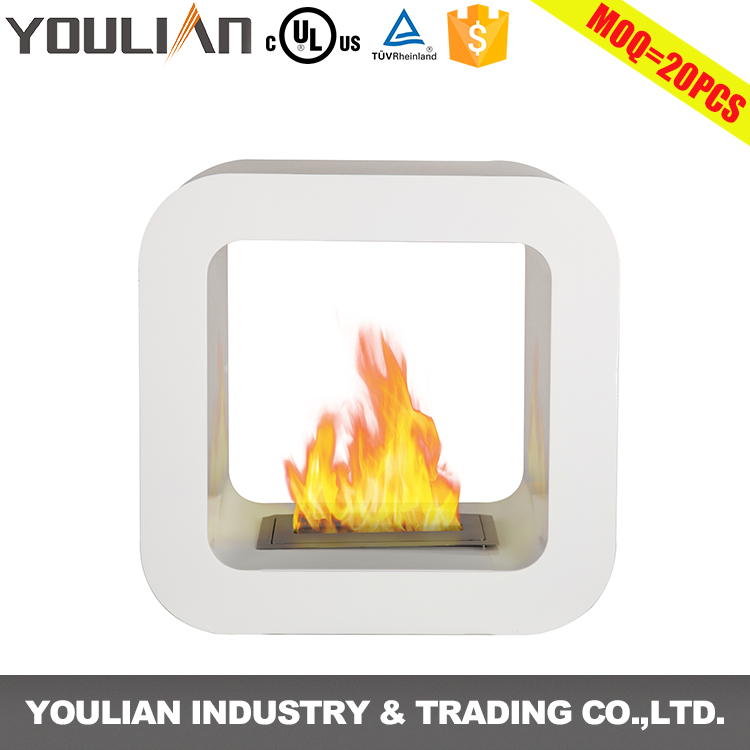 Good quality free standing denatured bio ethanol alcohol fireplace(FP-009S)