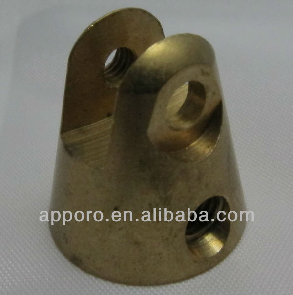 CNC turniing joint parts, Brass manufacturers, antenna base mount