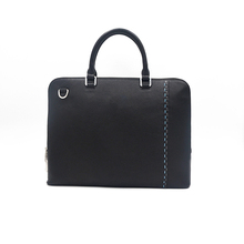 Sale high end men genuine leather handbag