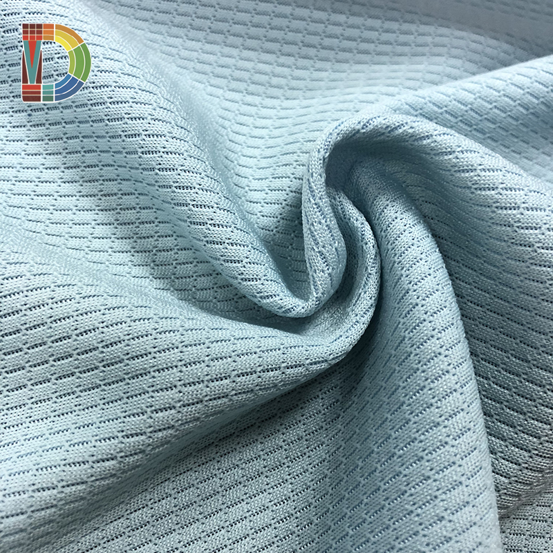 OED / ODM FACTORY antibacterial Honeycomb Net Fabric for Sportswear