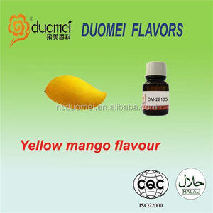 E concentrate juice flavoring yellow mango flavor