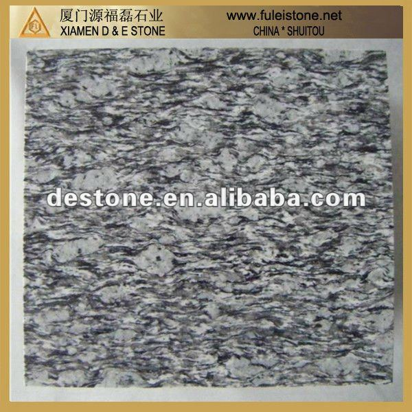 Spray White Chinese Actural Granite Stone