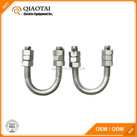 High performance double carbon steel u bolt from China
