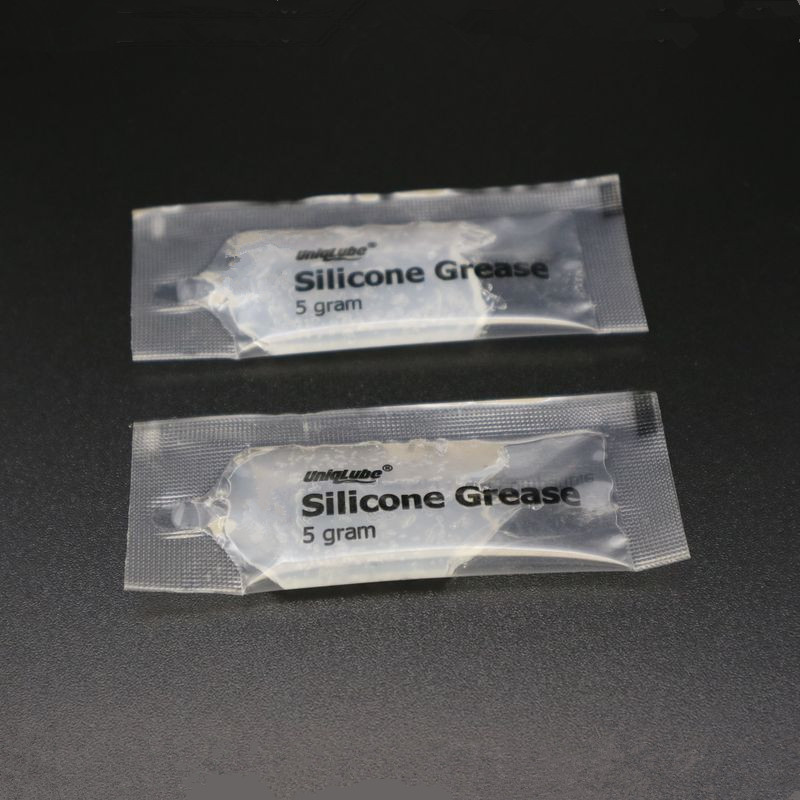 5 gram small package silicone oil lubricant o-ring sealing grease