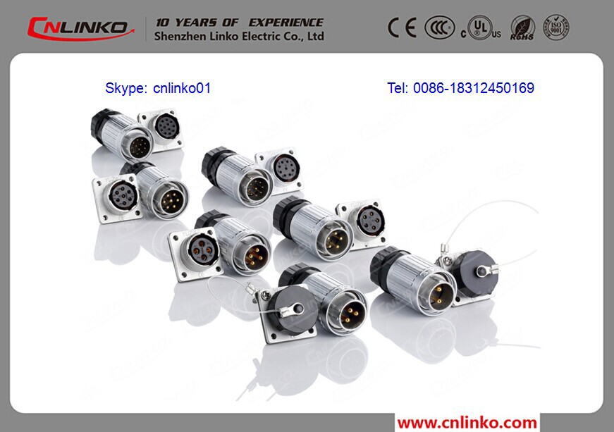 made in cnlinko waterproof 7 pin electrical connector 7 wire made in cnlinko waterproof 7 pin electrical connector 7 wire male female connector 7 wire