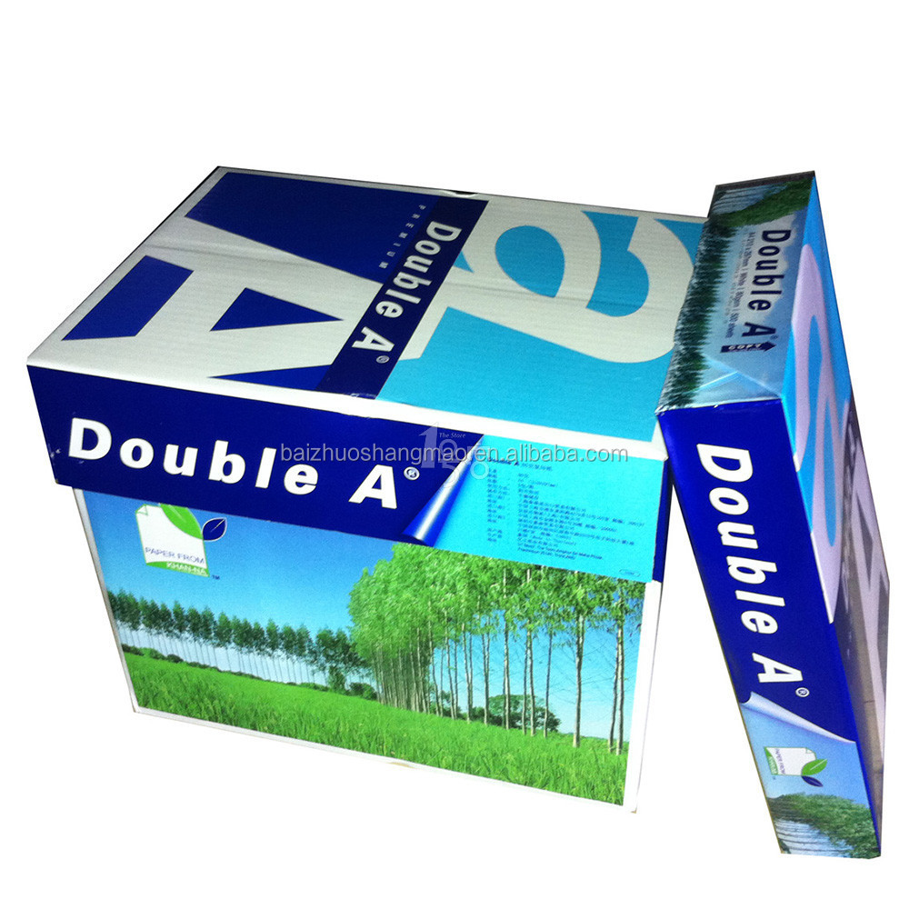 Copy Paper Type and A4 Size copy paper a4 80gr Double A stock