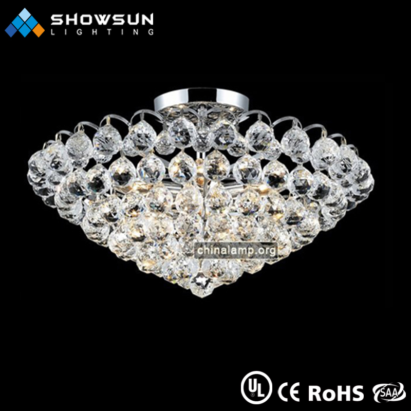 hot sale modern clear made in china indoor lighting household good looking flush lamp
