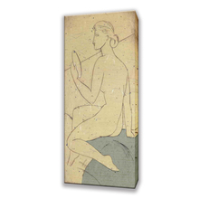 Wall Art Decoration Simple Nude Chinese Women Oil Paintings with frame