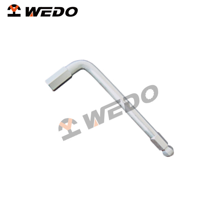 high quality non-magnetic die forged Titanium Hex Key Wrench with ball, do OEM