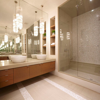 China Supplier Mirror Finish Glass Frameless Shower Enclosure With ...