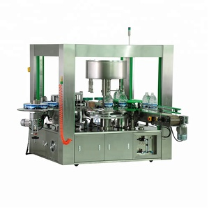 sticker water bottle labeling machine automatic large size label machine low price 6000-8000 BPH