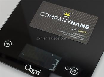 carbon fiber cnc business cards accept custom unique shaped business cards carbon fiber 02 - Unique Shaped Business Cards
