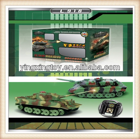 kids plastic toy 2.4G remote control tank for sale