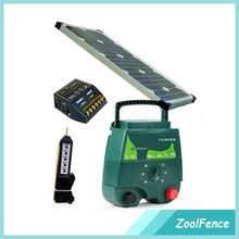 China Popular 5 J solar electric fence charger for electric fence