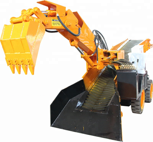 Easy automation,first-class quality and reasonable price Tunnel mucking machine