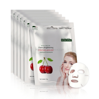 Beauty Cosmetics Cherry Moisturizing And Brightening Face Mask Cosmetic Oem